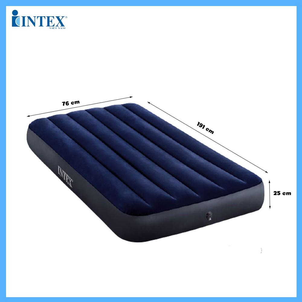 Đệm hơi đơn công nghệ mới 76cm INTEX 64756
