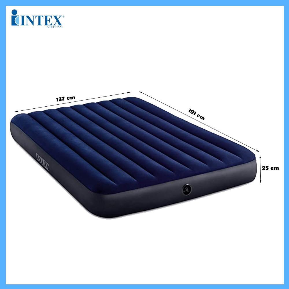 Đệm hơi đôi công nghệ mới 1m37 INTEX 64758