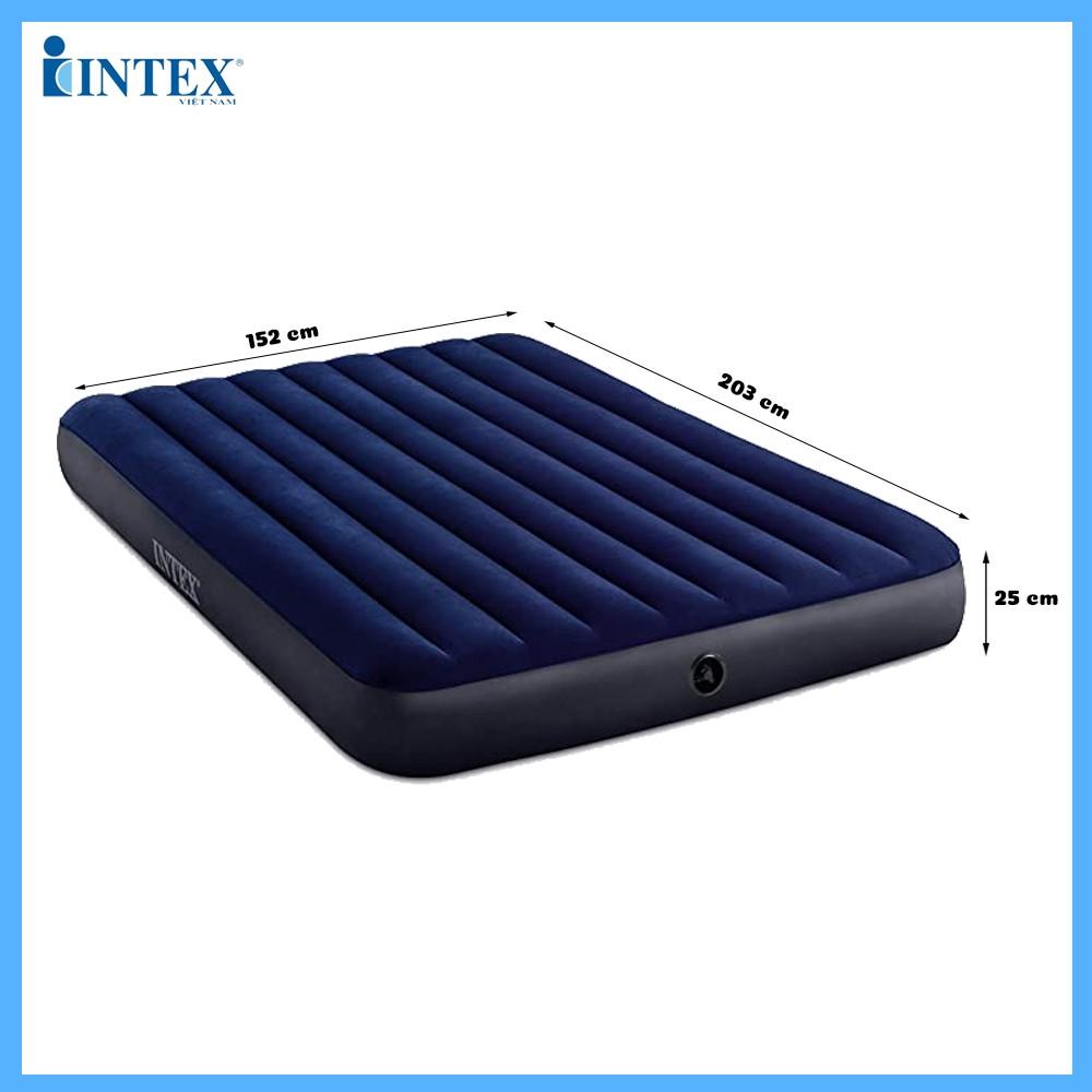 Đệm hơi đôi công nghệ mới 1m52 INTEX 64759