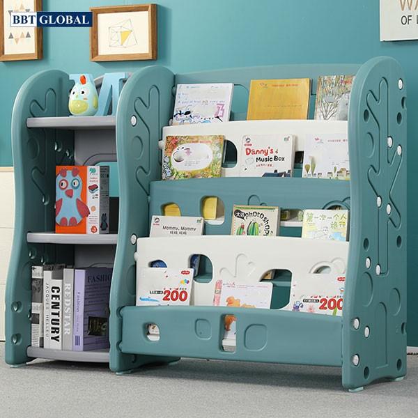 Giá kệ để đồ chơi và đồ dùng cho bé BBT Global SH9603GS - Xanh
