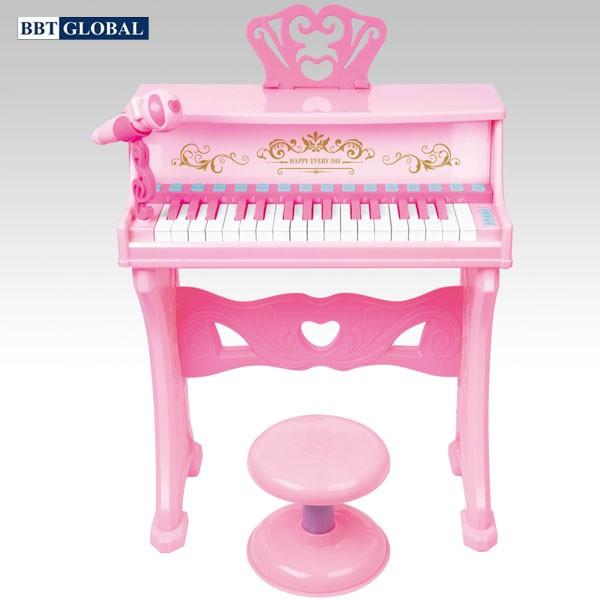 Đồ chơi đàn Piano CỠ LỚN 32 phím có ghế ngồi cho bé 9539