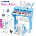 Đồ chơi đàn Organ điện tử 37 phím có ghế ngồi kèm sạc CV8818-206B