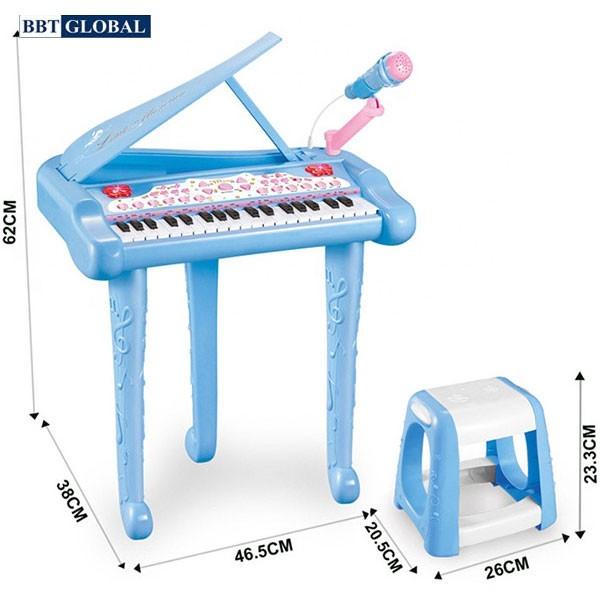 Đồ chơi đàn Piano 37 phím có ghế ngồi cho bé DJ206