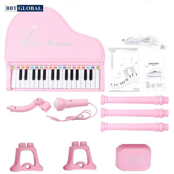 Đồ chơi đàn Piano 37 phím có ghế ngồi cho bé 1504A