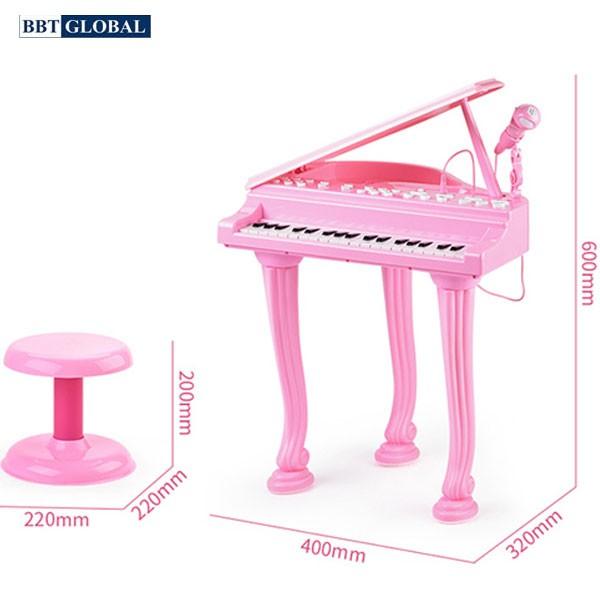 Đồ chơi đàn Piano 37 phím có ghế ngồi cho bé 881B
