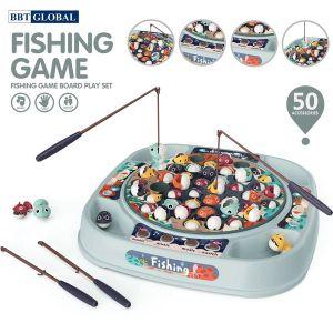 Đồ chơi câu cá cho bé 50 chi tiết có nhạc 889-213