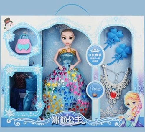Búp bê Elsa cho bé kèm nhiều phụ kiện MC2022C