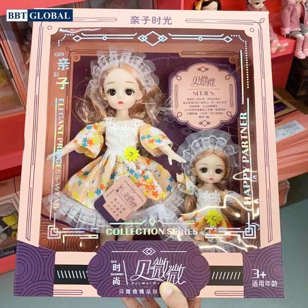 Đồ chơi búp bê công chúa 2 chị em T8813-D