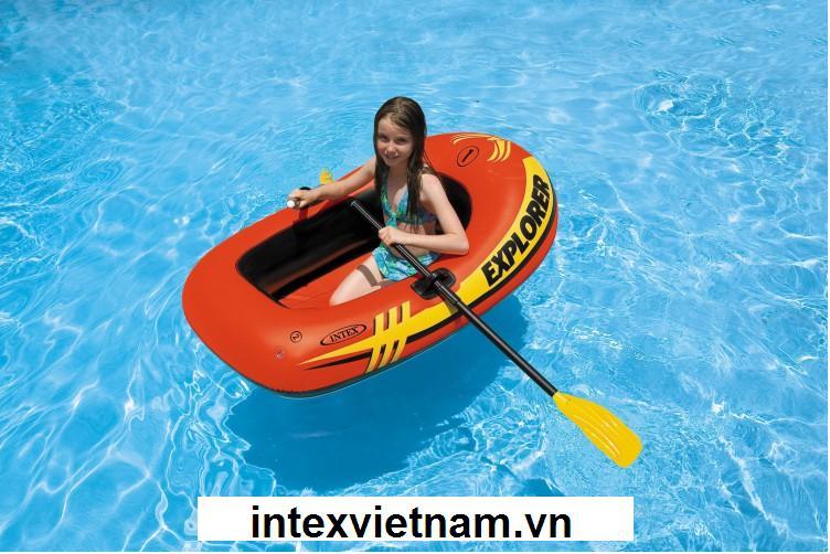 Thuyền bơm hơi trẻ em Explorer 100 INTEX 58329