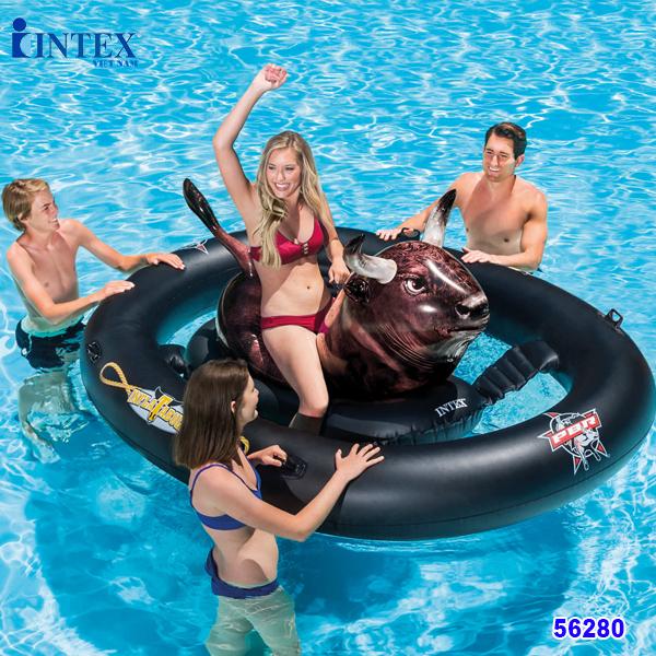 Phao bơi bò tót INTEX 56280