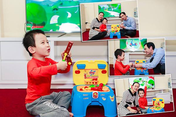 giúp trẻ thông minh - đồ chơi thông minh