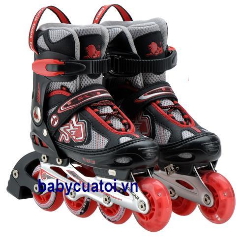 giay trượt patin 835LE-12 đỏ