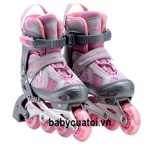 giay trượt patin 835LE-12 hồng