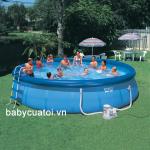 Hồ bơi, bể bơi phao có lọc nước INTEX 56417