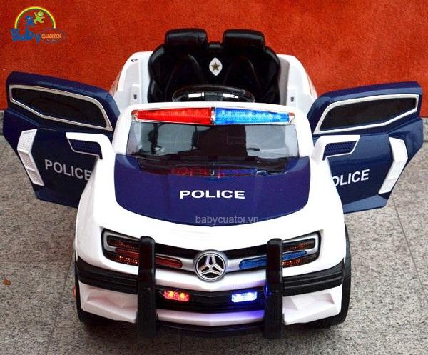 Xe ô tô điện cảnh sát cho bé US911