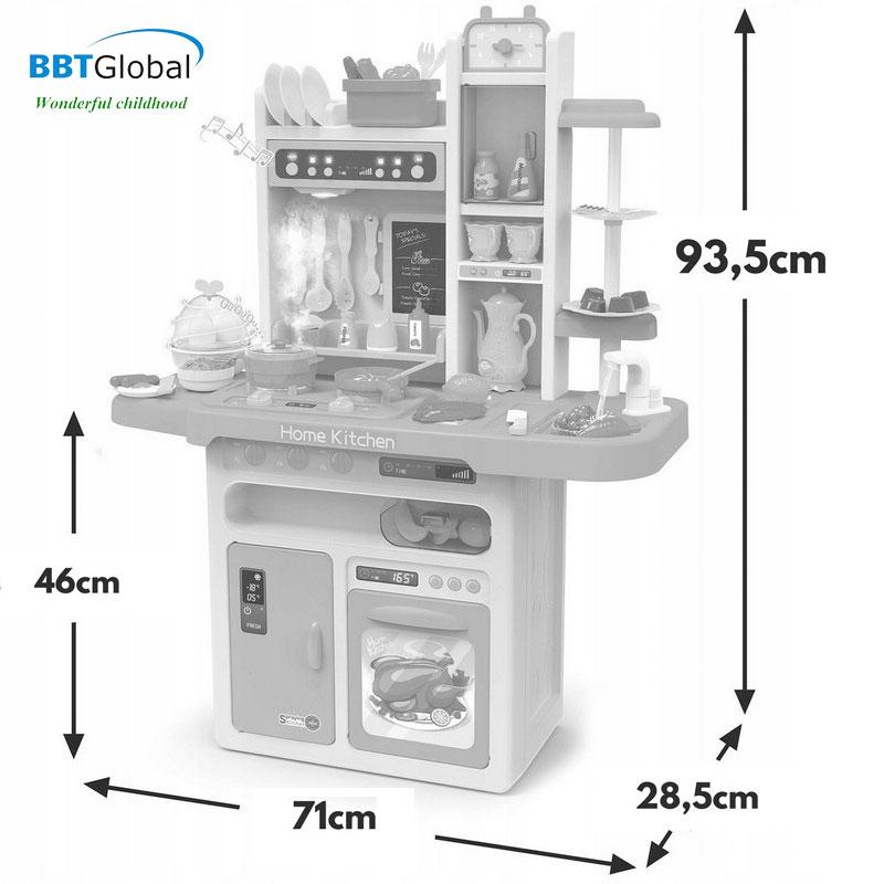Bộ đồ chơi nấu ăn cỡ lớn 65 chi tiết 889-162