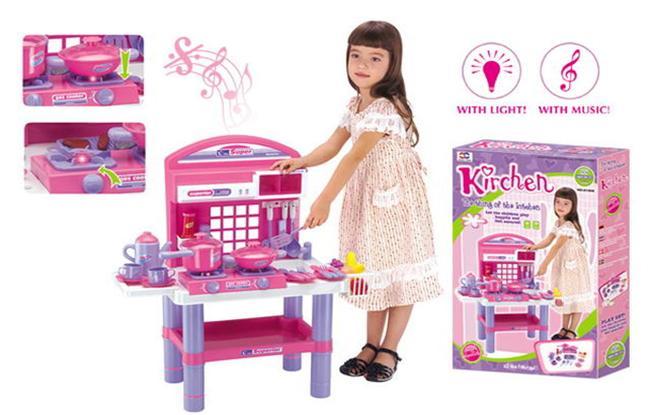 Đồ chơi nấu ăn cho bé màu hồng - 7 gợi ý giúp bạn lựa chọn đồ chơi cho bé