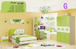 Bộ nội thất phòng ngủ bé trai đẹp nhập khẩu BO-819