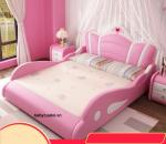 Giường trẻ em nhập khẩu đẹp hình vương miện GBT-02