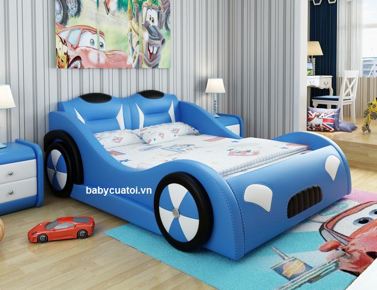 giường bé trai đẹp GBT-01-1