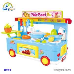 Đồ chơi xe Bus đồ ăn nhanh 889-66