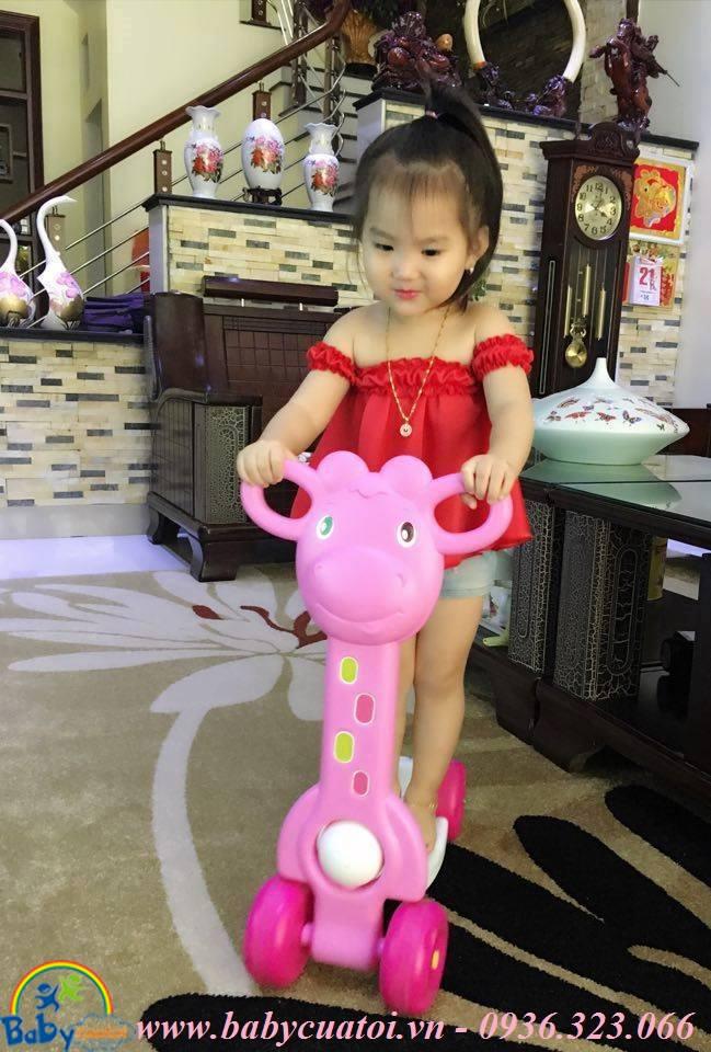 scooter hươu hồng