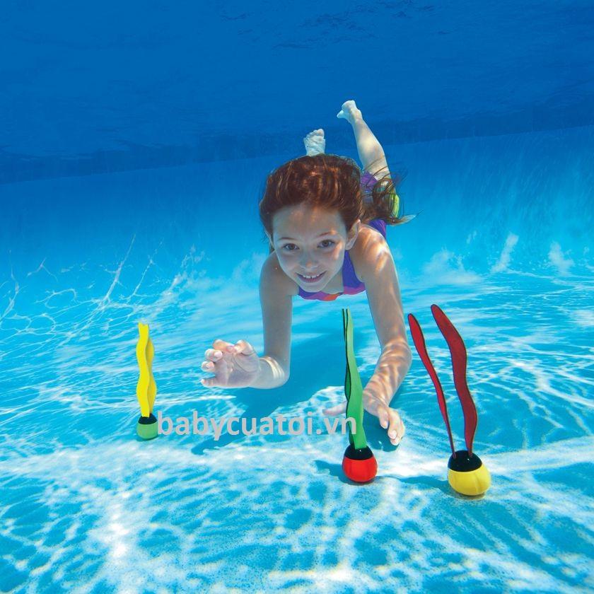 Quả cầu INTEX chơi dưới nước cho bé 55503