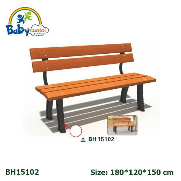 Ghế công viên sân vườn nhập khẩu BH15102