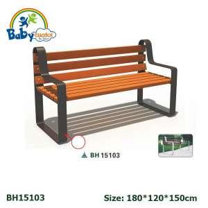 Ghế công viên nhập khẩu BH15103