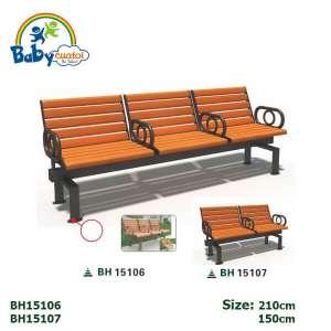 Ghế công viên nhập khẩu BH15106