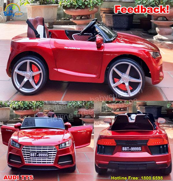 Xe ô tô điện trẻ em Audi TTS BBT-9999 phun sơn