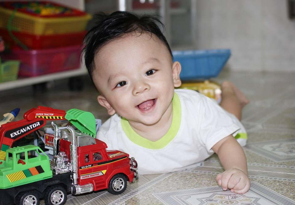 ô tô trẻ em Huỳnh Nguyễn Bảo Nam 1