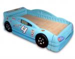 Giường ngủ bé trai đẹp hình ô tô xanh giá rẻ nhập khẩu B016-X