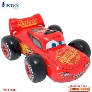 Phao bơi ô tô McQueen cho bé INTEX 57516