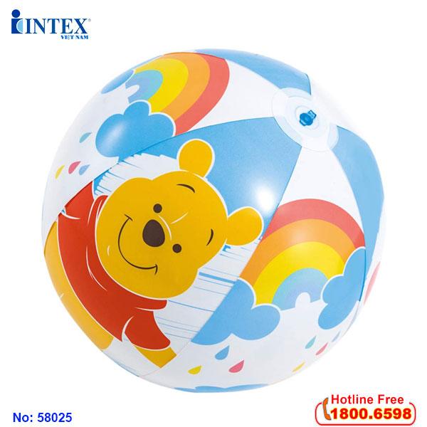 Bóng hơi INTEX 58025 Gấu Pooth