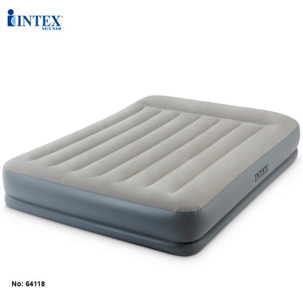 Giường hơi đôi tự phồng công nghệ mới INTEX 64118