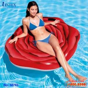 Phao bơi Hoa Hồng Đỏ khổng lồ INTEX 58783