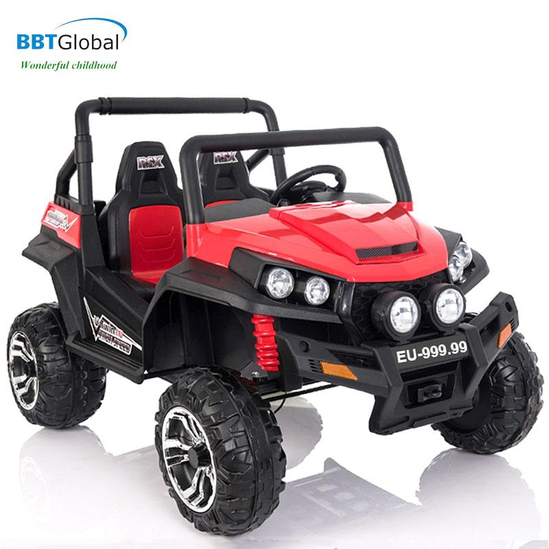 Ô tô điện trẻ em địa hình siêu HOT 4 động cơ đỏ EU-999.99D