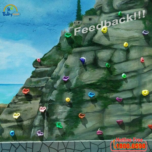 Mấu leo núi bắn tường 2 lỗ ZK056-3