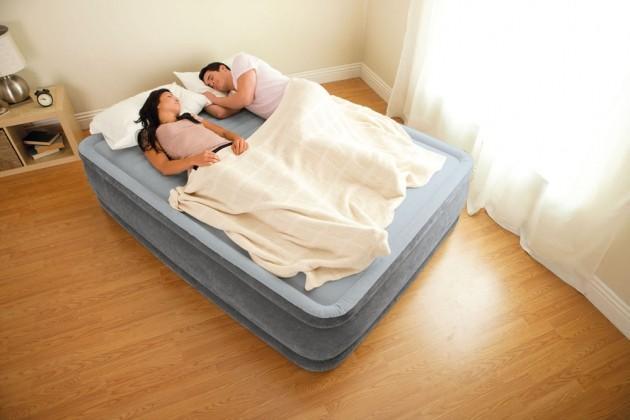 Giường hơi tự phồng cao cấp 1m52 intex 67770