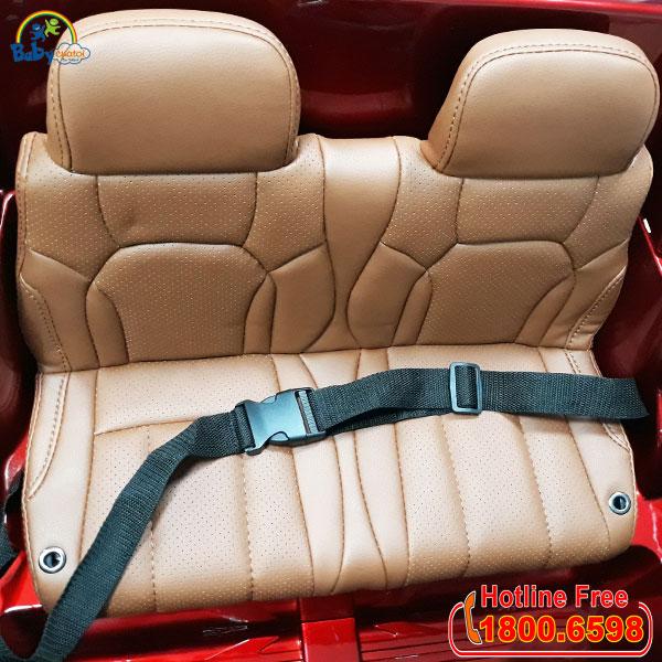 Xe ô tô điện trẻ em bản quyền Lexus LX570 màu xanh | ghế ngồi
