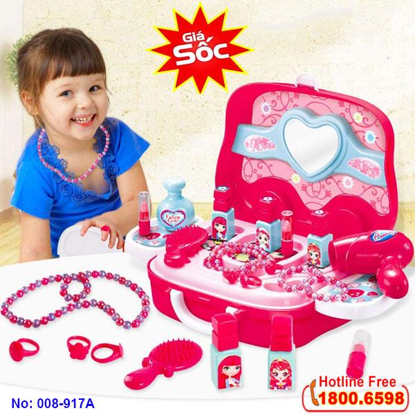 Bộ đồ chơi trang điểm cho bé 008-917A