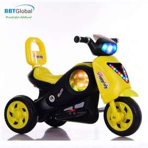 Xe máy điện trẻ em màu vàng BBT-500V