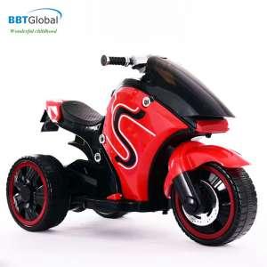 Xe máy điện trẻ em BMW mẫu mới 2 động cơ màu đỏ BBT-888D