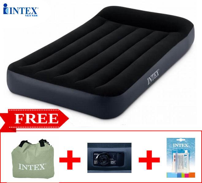 Đệm hơi đơn tự phồng công nghệ mới INTEX 64146