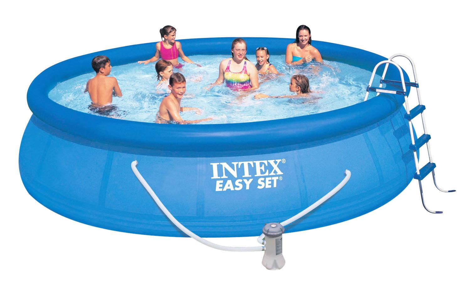 Bể bơi phao 4m57*1m07 có máy lọc nước INTEX 28166