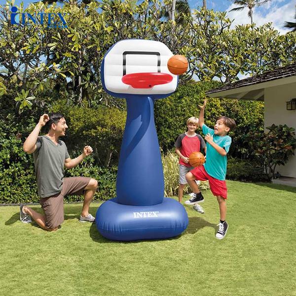 Cọc gôn ném bóng rổ hơi INTEX 57502