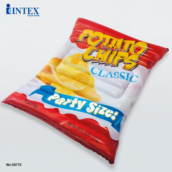 Phao bơi snack bim bim khoai tây INTEX 58776