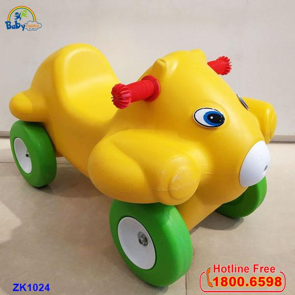 Xe chòi chân nhập khẩu lợn con ZK1024