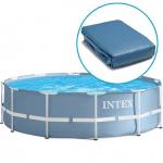 Bạt bể bơi khung kim loại 305*76cm 12448